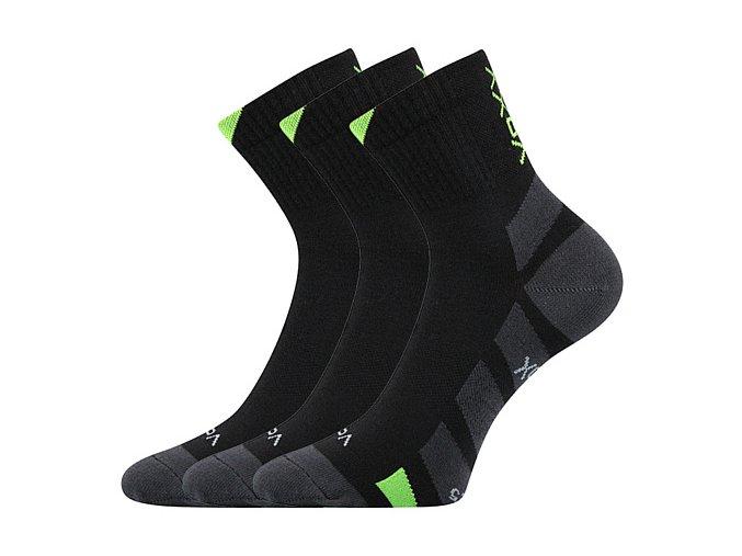 Ponožky VoXX 3 kusy v balení Gastl černá