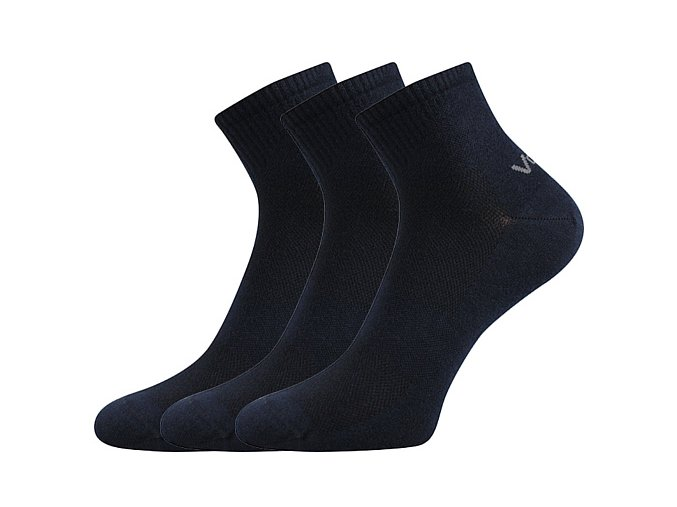 Ponožky VoXX 3 kusy v balení Metym tmavě modrá