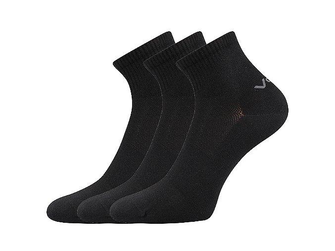 Ponožky VoXX 3 kusy v balení Metym černá