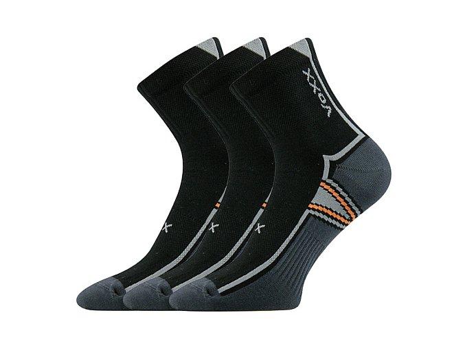 Ponožky VoXX 3 kusy v balení Neo černá