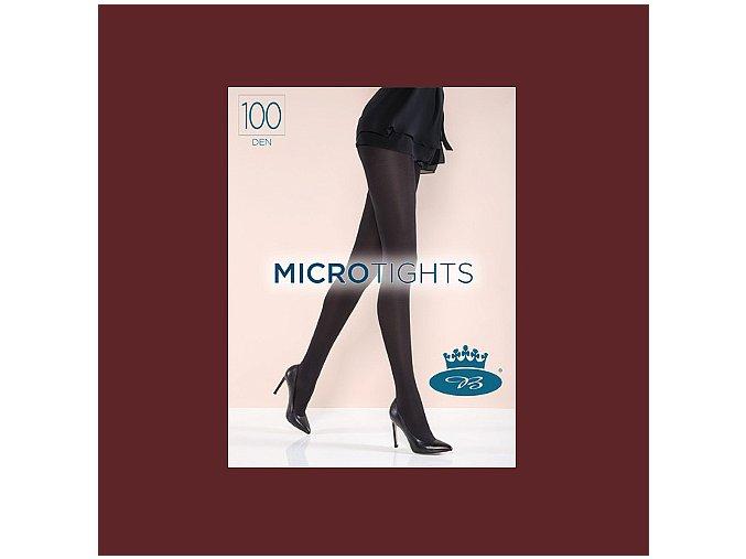 Punčochové kalhoty Boma Micro Tights 100 den Granatina