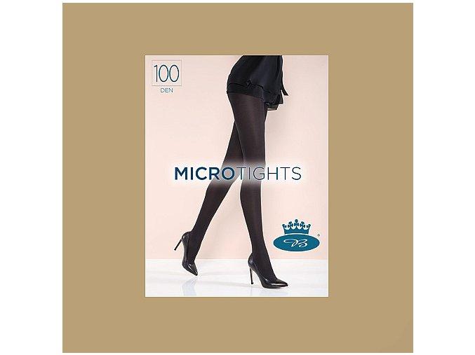 Punčochové kalhoty Boma Micro Tights 100 den Beige