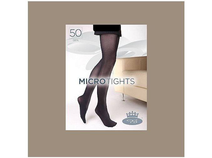 Punčochové kalhoty Boma Micro Tights 50 den Warm Taupe