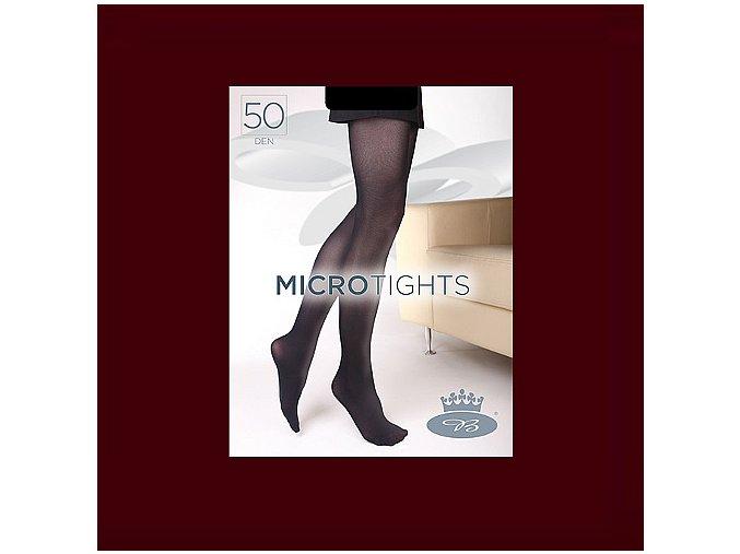 Punčochové kalhoty Boma Micro Tights 50 den windsor wine