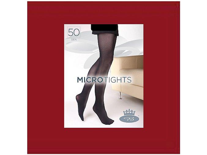 Punčochové kalhoty Boma Micro Tights 50 den granatina