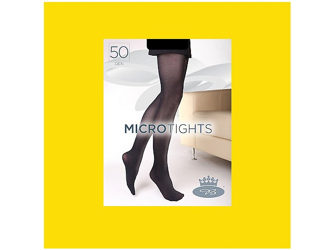 Punčochové kalhoty Boma Micro Tights 50 den vibrant yellow