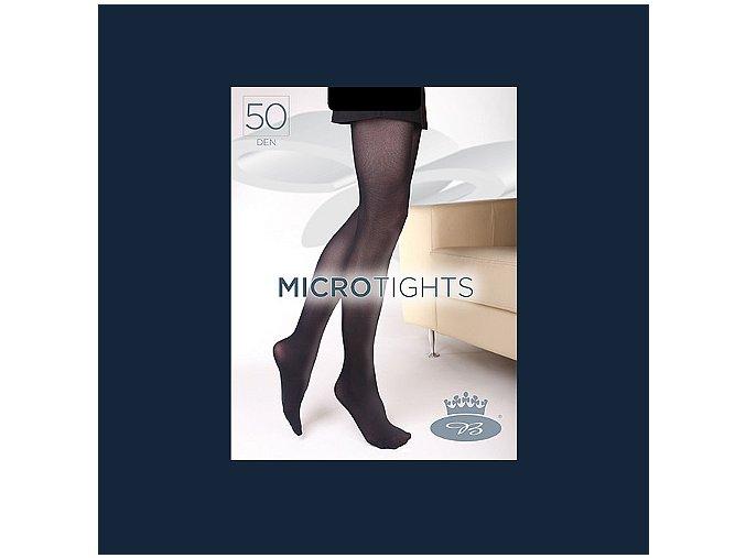 Punčochové kalhoty Boma Micro Tights 50 den black iris