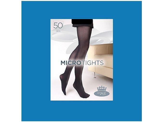Punčochové kalhoty Boma Micro Tights 50 den ibiza blue