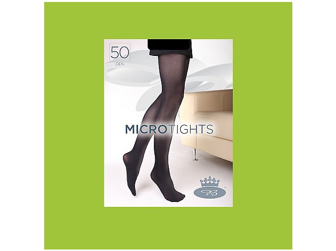 Punčochové kalhoty Boma Micro Tights 50 den lime green