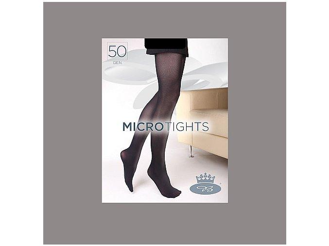 Punčochové kalhoty Boma Micro Tights 50 den shark skin