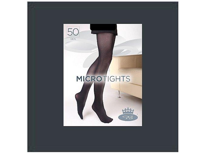 Punčochové kalhoty Boma Micro Tights 50 den grafite