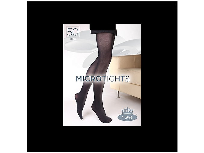 Punčochové kalhoty Boma Micro Tights 50 den nero
