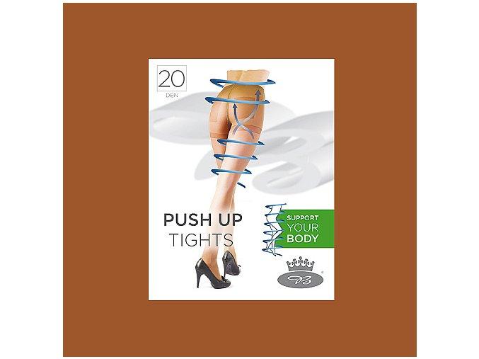 Punčochové kalhoty Boma PUSH UP tights 20 DEN opal