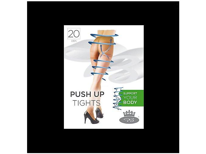 Punčochové kalhoty Boma PUSH UP tights 20 DEN nero