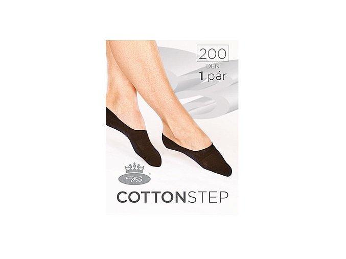 Bavlněné Ťapky Boma Cotton Step 200 den bílá