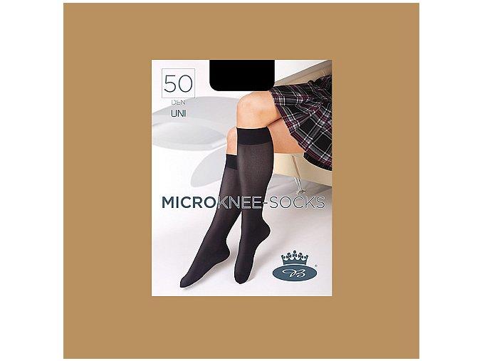 Podkolenky Boma MICRO knee socks 50 DEN beige