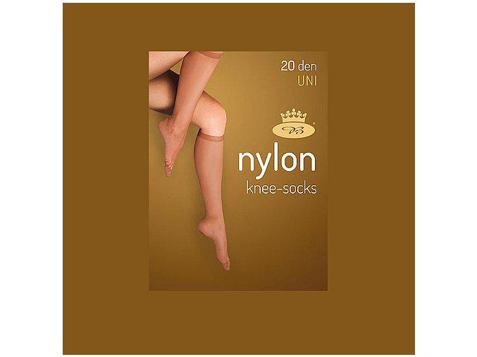 Podkolenky 2 páry v balení Boma LADYknee socks 20 DEN Golden
