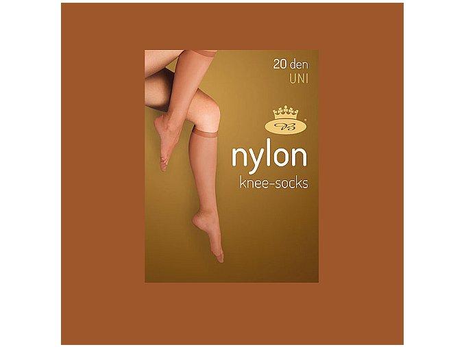 Podkolenky 2 páry v balení Boma LADYknee socks 20 DEN Opal