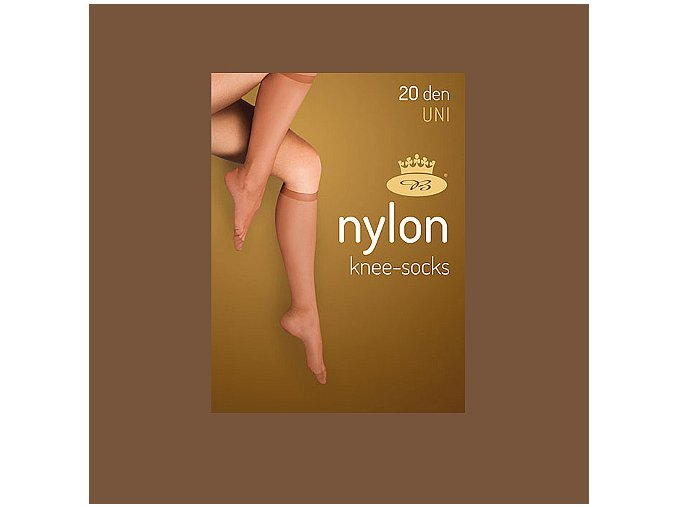 Podkolenky 2 páry v balení Boma LADYknee socks 20 DEN Castoro