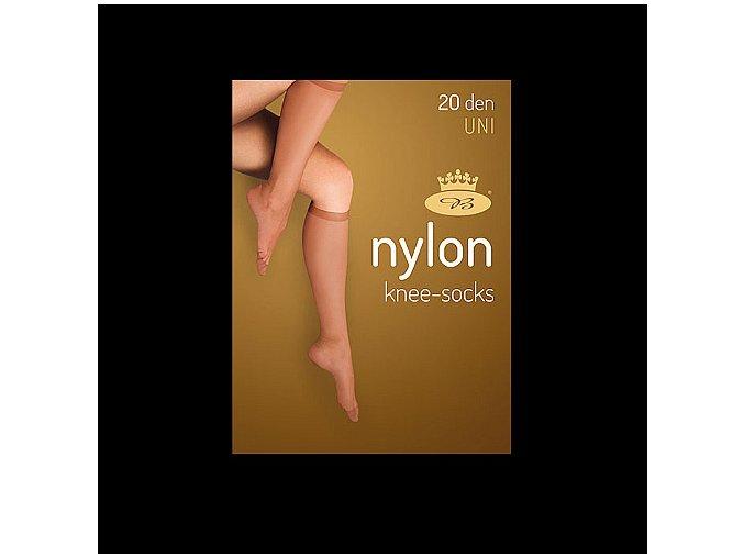 Podkolenky 2 páry v balení Boma LADYknee socks 20 DEN Nero