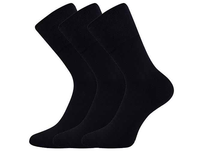 Zdravotní ponožky 3 kusy v balení VoXX Finego Tmavě Modrá