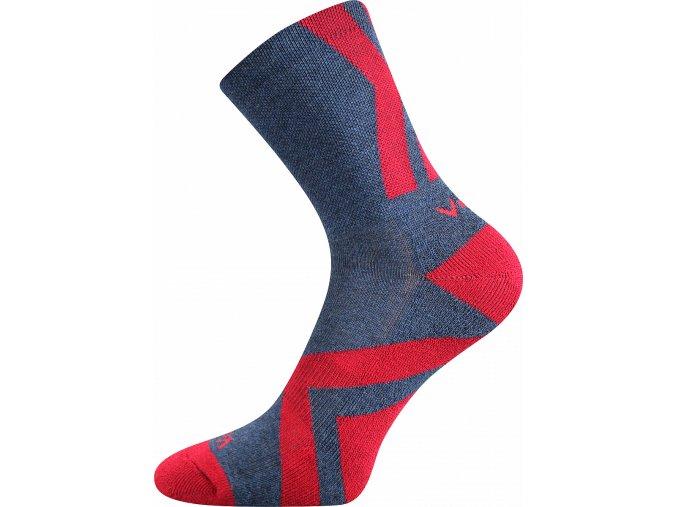 Sportovní Ponožky VoXX Jeff 01 Jeans melé