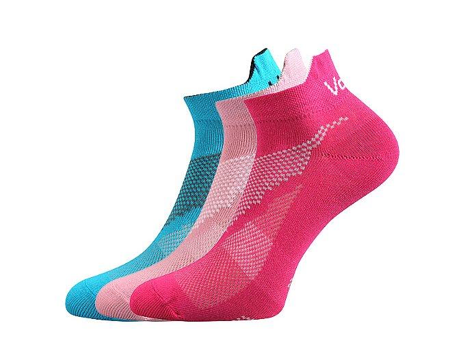 Dětské ponožky 3 páry v balení VoXX Iris mix holka