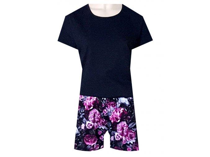 Dámské Pyžamo Krátké DPK22