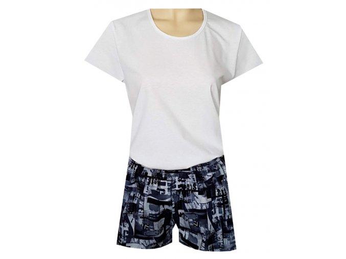 Dámské Pyžamo Krátké DPK47