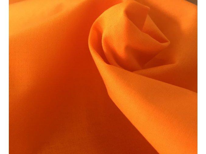 Plátno Oranžová artikl 315
