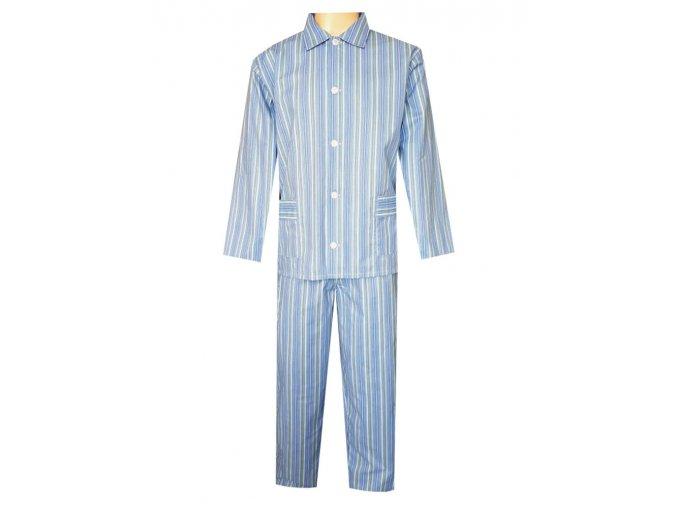 Pánské Pyžamo Plátěné FOLTÝN PP34