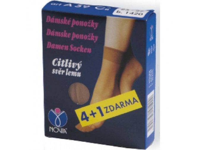 Ponožky 4 páry v balení Novia A59