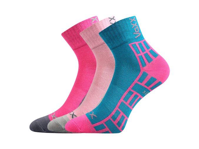 Dětské ponožky 3 kusy v balení VoXX Maik mix vzorů A