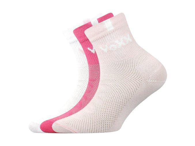 Dětské ponožky 3 kusy v balení VoXX Fredík mix vzorů A