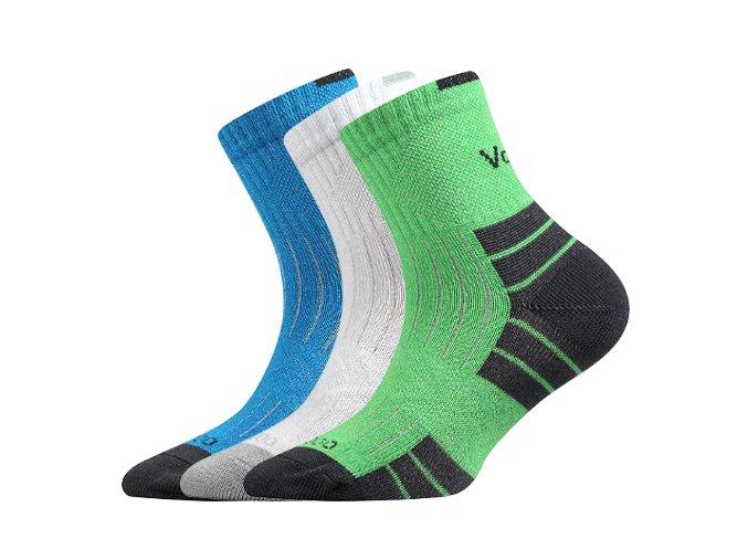 Dětské bambusové ponožky 3 kusy v balení VoXX Belkinik mix barev C