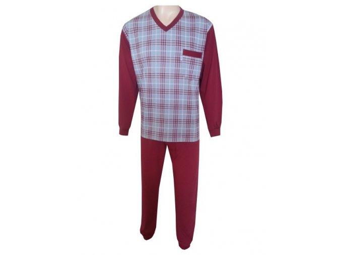Pánské Pyžamo Dlouhé FOLTÝN PD 55