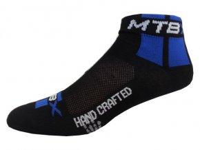 Sportovní Ponožky NOVIA Cyklo MTB modrá