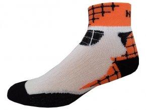 Sportovní Ponožky NOVIA Sport Collection Ride oranžová