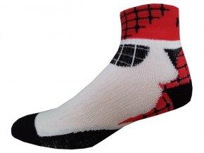 Sportovní Ponožky NOVIA Sport Collection Ride červená