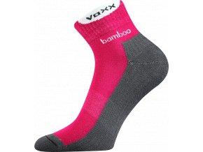 Sportovní Ponožky VoXX Brooke tmavě růžová