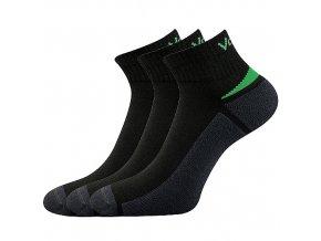 Ponožky VoXX Aston černá 3 kusy v balení