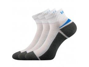 Ponožky VoXX Aston bílá 3 kusy v balení