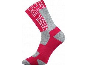 Sportovní Ponožky VoXX Matrix čevená
