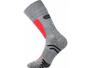 Sportovní Ponožky VoXX Solution světle šedá