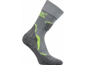Sportovní Ponožky VoXX Dualix světle šedá