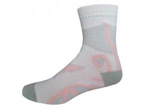 Sportovní Ponožky NOVIA Inline růžová