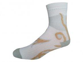 Sportovní Ponožky NOVIA Inline béžová