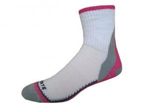 Sportovní Ponožky NOVIA Skate Růžová