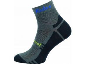 Sportovní Ponožky NOVIA RELAX šedá