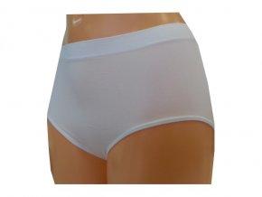 Dámské Bezešvé Kalhotky Novia Clasic Bílá